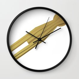 Cloths Peg Wall Clock