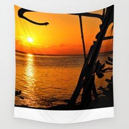 Sunrise The Maldives Wall Tapestry