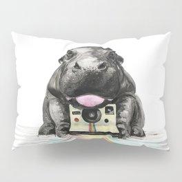 Baby Hippo Pillow Sham