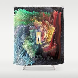 Mindful Perceptions Shower Curtain