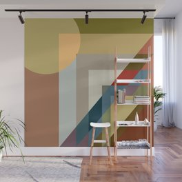 geometric 53 a day in the life Wall Mural