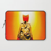 military Laptop Sleeves featuring MILITARY DRESS by Alejandra Triana Muñoz (Alejandra Sweet