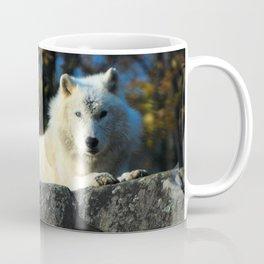 Sentinel: Arctic Wolf Coffee Mug