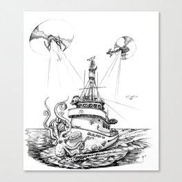 QUALIFIER 105 Canvas Print
