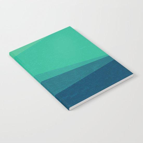 Stripe VIII Minty Notebook