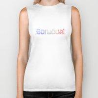 bonjour Biker Tanks featuring Bonjour! by UMe Images