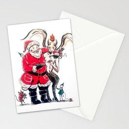 Santasatan Stationery Cards