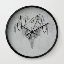 You and Me and the Devil makes 3 Wall Clock