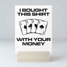 Poker Mini Art Print