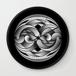 Infini Halftone Wall Clock