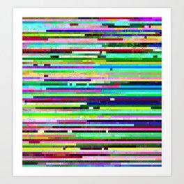 Maurer Colours # 1 Art Print