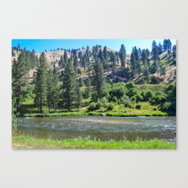 Payette River Scene ~ I Canvas Print