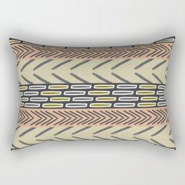 Bricks and sticks Rectangular Pillow