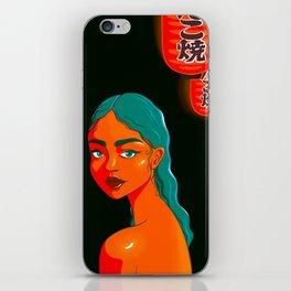 Tokyo Glow iPhone Skin