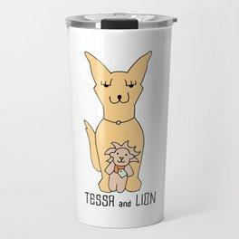 Tessa and Lion Travel Mug