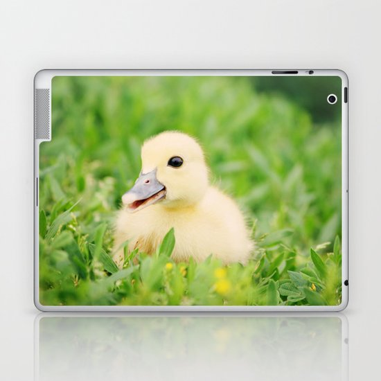 Happy-Go-Ducky Laptop & iPad Skin