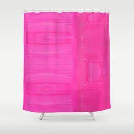 Hella Pink Shower Curtain