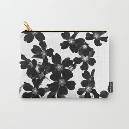 Primrose In BW Carry-All Pouch