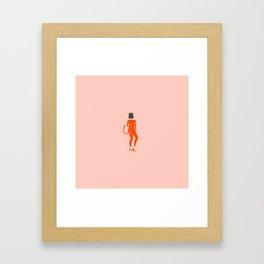Inktober Day 12 - Devil Framed Art Print