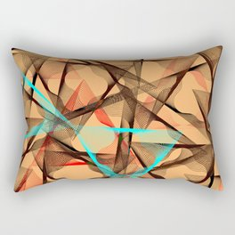 geometri art Rectangular Pillow