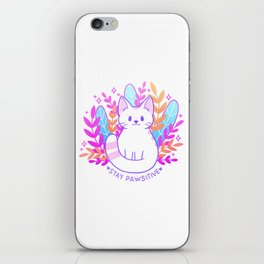 Pawsitive Cat iPhone Skin