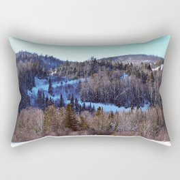 Switchback Trail Rectangular Pillow