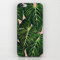 Tropical II Coral iPhone & iPod Skin