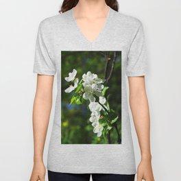 Apple blossom Unisex V-Neck