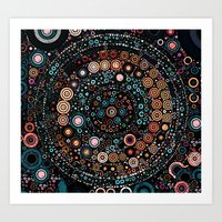 carousel Art Prints featuring :: Carousel :: by :: GaleStorm Artworks ::