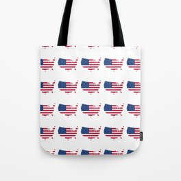 USA 7- america,us,united states,american,new york,hollywoord,spangled,banner,star and strips Tote Bag