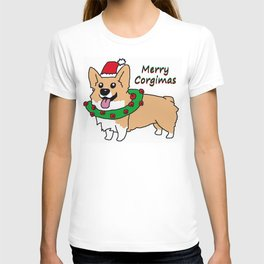 Merry Corgimas T-shirt