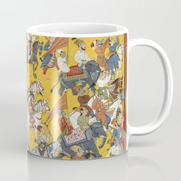 King Dasaratha and His Retinue Proceed to Ramas Wedding Folio from the Shangri Ramayana Series (Styl Coffee Mug