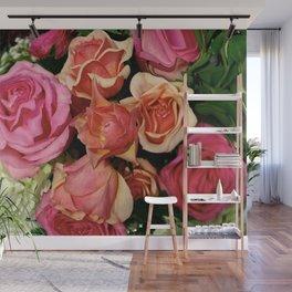 Roses Bouquet Digital Art Photography Wall Mural