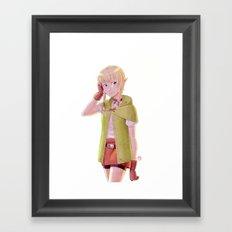 The Legend of Zelda - Linkle Tribute Framed Art Print