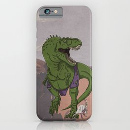 Hulkasaurus Rex - Superhero Dinosaurs Series iPhone Case