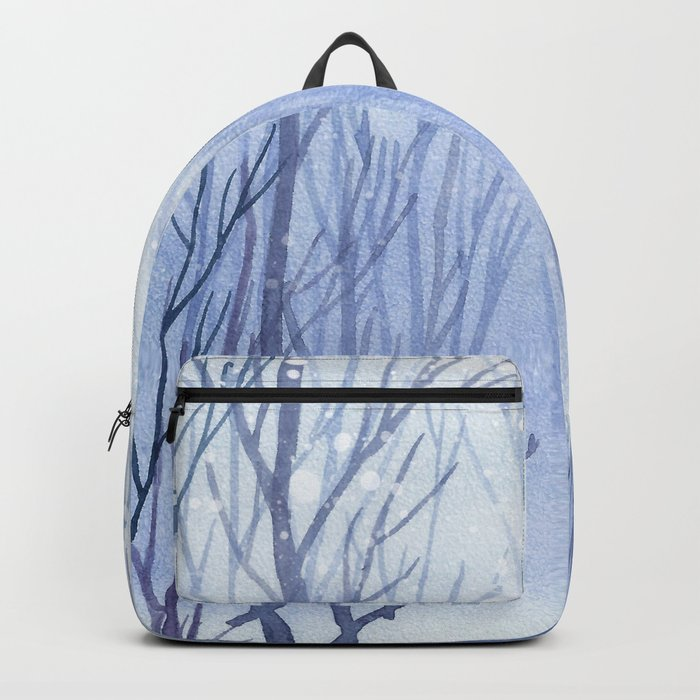 Winter scenery #3 Backpack
