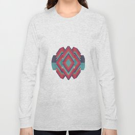 Jagged Diamond Long Sleeve T-shirt