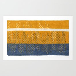 Yarns: Reflections Art Print