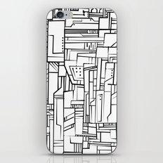 Electropattern(B&W) iPhone & iPod Skin