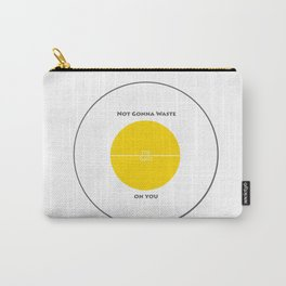 Game Inspired - Not Gonna Waste My Balls on You - Team Yellow Carry-All Pouch