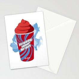 """""""Freeze Your Brain"""" Heathers Minimalist Stationery Cards"""