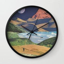 Happy Wanderer Wall Clock