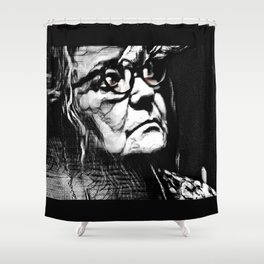 Wretched Shower Curtain