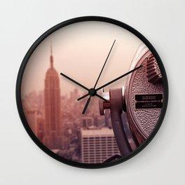 Warm Empire Wall Clock