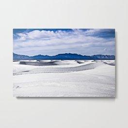 White Sands N.M. Metal Print