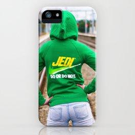 Jedi Josie iPhone Case