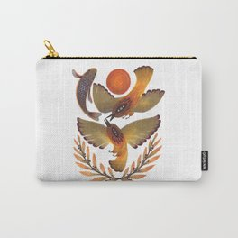 Fighting Birds Carry-All Pouch