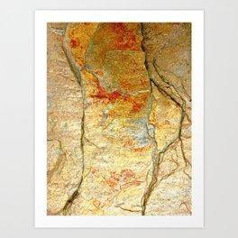 Stone Gold Art Print