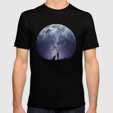 Stargaze MEDIUM Mens Fitted Tee Black
