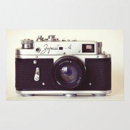 Zorki vintage camera Rug